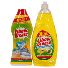 Elbow Grease Washing Up Liquid & Cream Cleaner