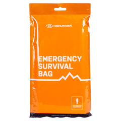 Emergency Survival Bivvi Bag With Survival Guide & Instructions