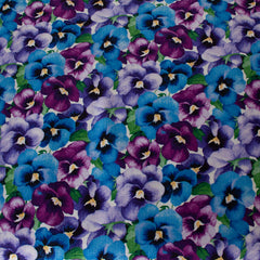 Blue Purple - Pattern : Pansy
