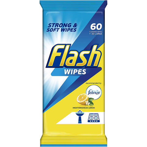 Flash All Purpose Cleaning Wipes 60 Pk