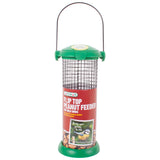 Flip Top Steel Cage Peanut Feeder