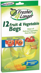Fruit & Vegetable Bags 12 PK