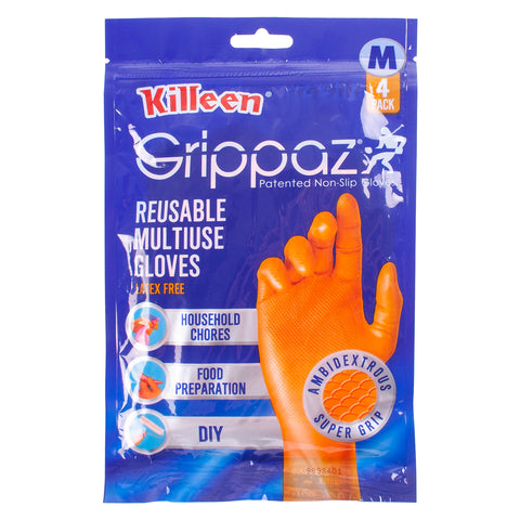 Killeen Grippaz Domestic Rubber Gloves Medium