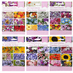 Speedy Flower Seed 6 In 1 Seed Collection