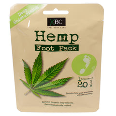 Hemp Foot Pack