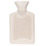 White hot water bottle 1 litre