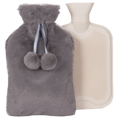 Cozy & Warm Hot Water Bottle With Plush Cover 2L