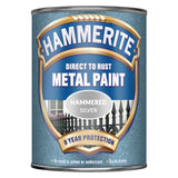 Silver Hammered Metal Paint 750ml