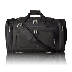 5 Cities Black Holdall Bag