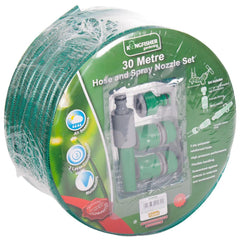 Kingfisher Garden Hose With Nozzle Set