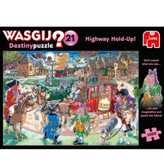 Wasgij Highway Holdup Jigsaw