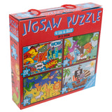 Jigsaw Puzzle 4 In A Box