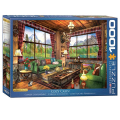 Cozy Cabin 1000pcs