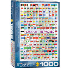 Flags Of The World 1000pcs
