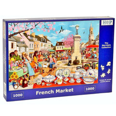French Market 1000pc
