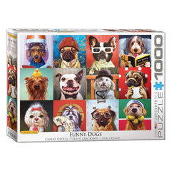 Funny Dogs By Heffernan 1000pcs