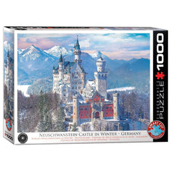 Neuschwanstein Castle In Winter 1000pcs