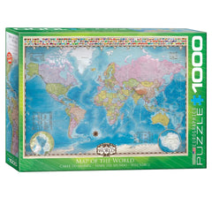 Map Of The World 1000pcs
