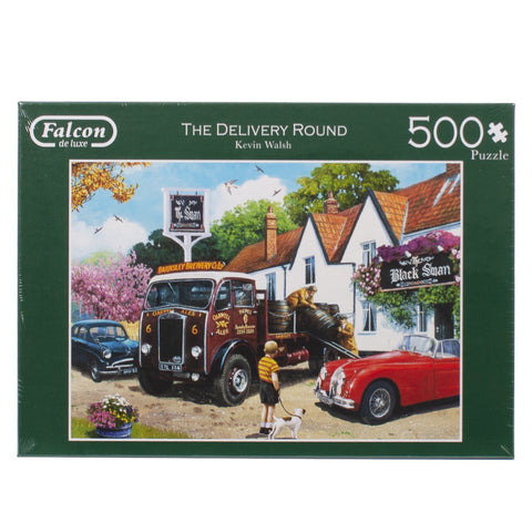 The Delivery Round 500 Piece Puzzle