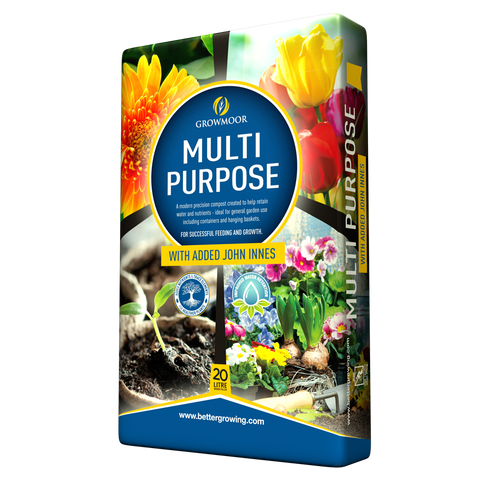 Growmoor Multi Purpose Compost + John Innes 20 Litre