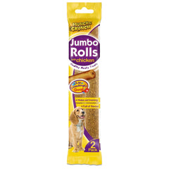 Jumbo Rolls 2 Pack With Chicken