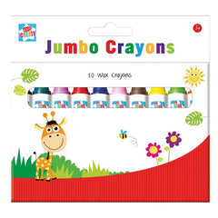 Jumbo Colouring Crayons