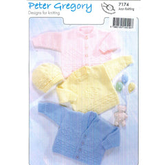 Sweater, Cardi Hat Peter Gregory 7174