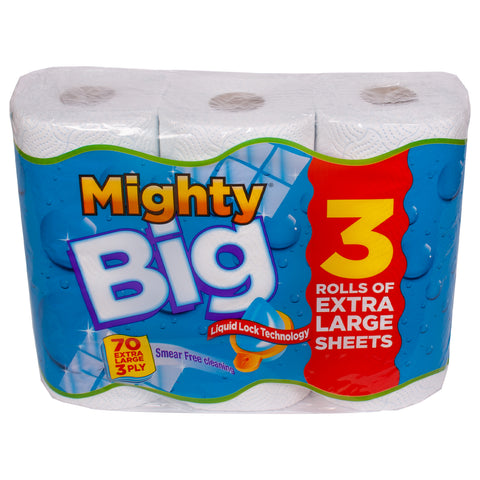 Mighty Big Liquid Lock Kitchen Roll