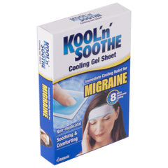 Kool'n' Soothe Cooling Gel Sheet