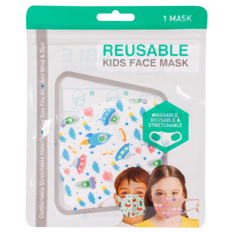 Reusable Kids Face Masks