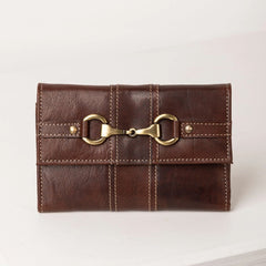 Ladies Bramham Leather Snaffle Purse