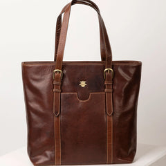 Bramham Leather Tote Bag