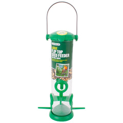 Large Flip Top Bird Seed Feeder