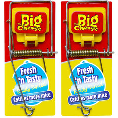 The Big Cheese Fresh Baited Mouse Trap 2 Pack
