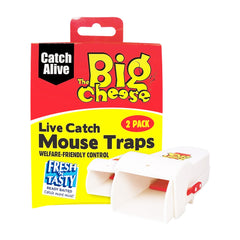 The Big Cheese Live Catch Mouse Traps 2 Pack