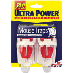 The Big Cheese Ultra Power Mouse Traps 2 Pack