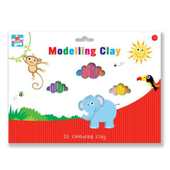 20 Piece Modelling clay set