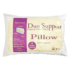 Sarah Ashfield Duo Support Foam & Fibre Pillow