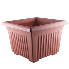 Wham Terracotta Sovereign Square Planter 35cm