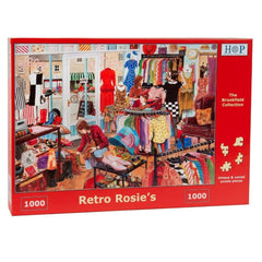 Retro Rosies 1000pc