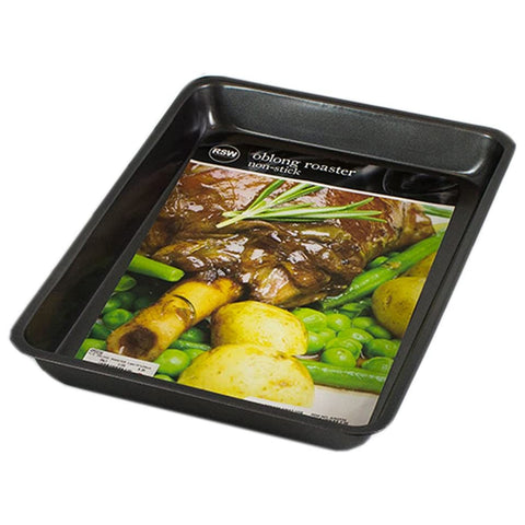 Non Stick Oblong Roaster 33x25cm