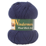 Midnight Aran Wool