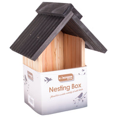 Deluxe Sloped Roof Nesting Box