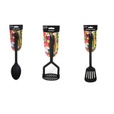 Black Nylon Kitchen Utensils
