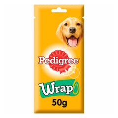 Pedigree Wrap Dog Treats With Chicken