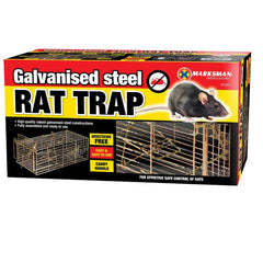 Marksman Galanised Steel Rat Trap