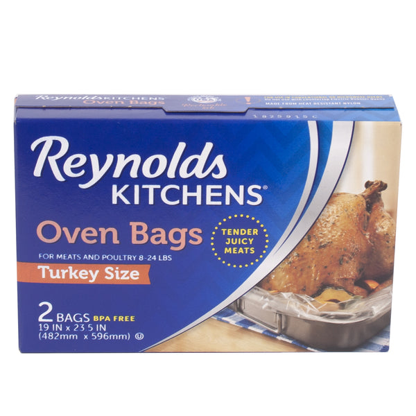 Reynolds Oven Bags Turkey Size 2pk