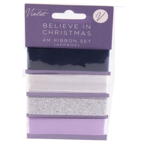 Believe in Christmas Ribbon Set