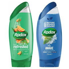 Radox Shower Gel With 100% Nature Fragrances 250ml