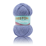 Rubstone Chunky Knit Denim Reflection